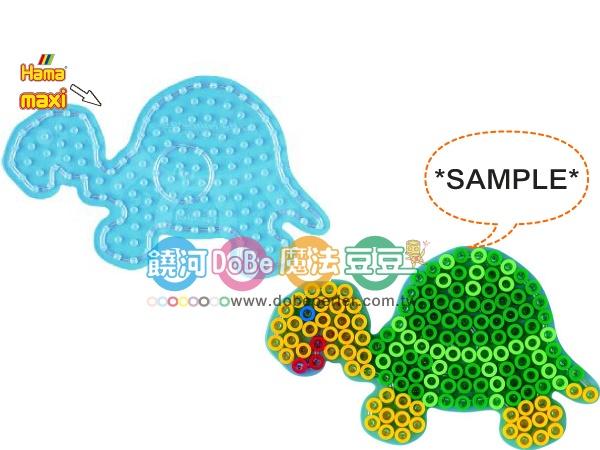 幼儿大豆豆专用模型板-透明海龟板